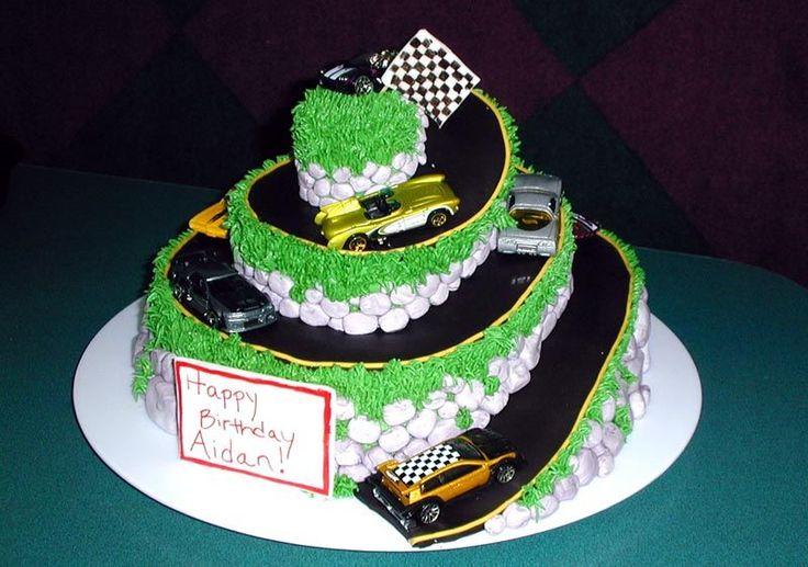 Racetrack Cakes Birthday