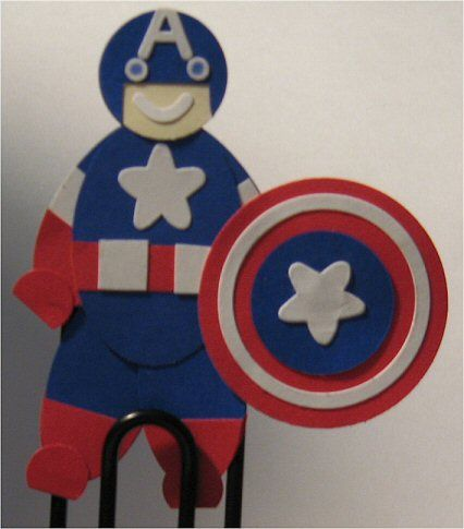 the Avengers - Captain America by mom5z - Cards and Paper Crafts at ...