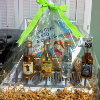 baby shower gift for dad to be bottle drying rack with small bottles