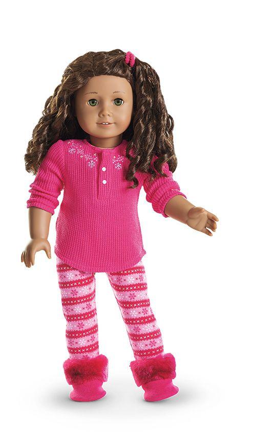 Fair Isle Pajamas for Dolls