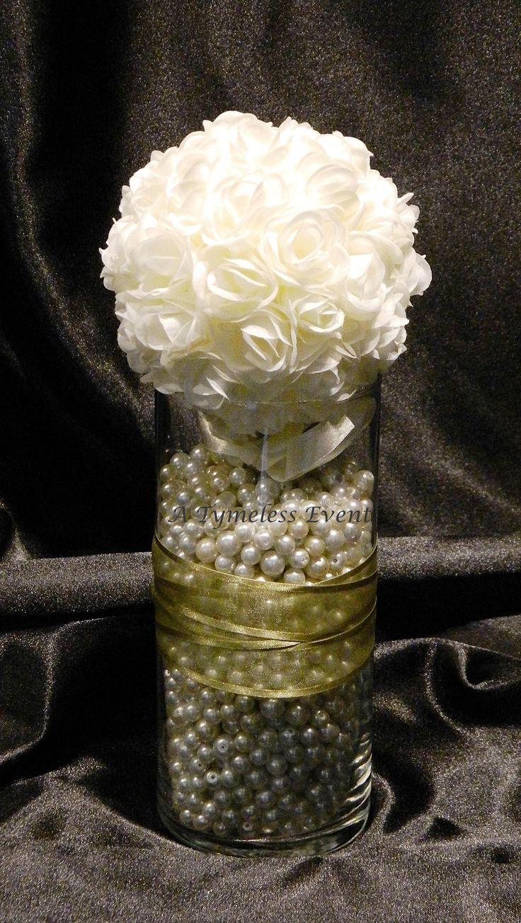 Simple but elegant centerpiece ideas for mija s quince