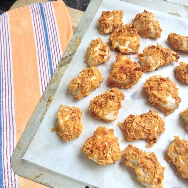 , and are made with 100% chicken breast-making a healthy wee nugget ...