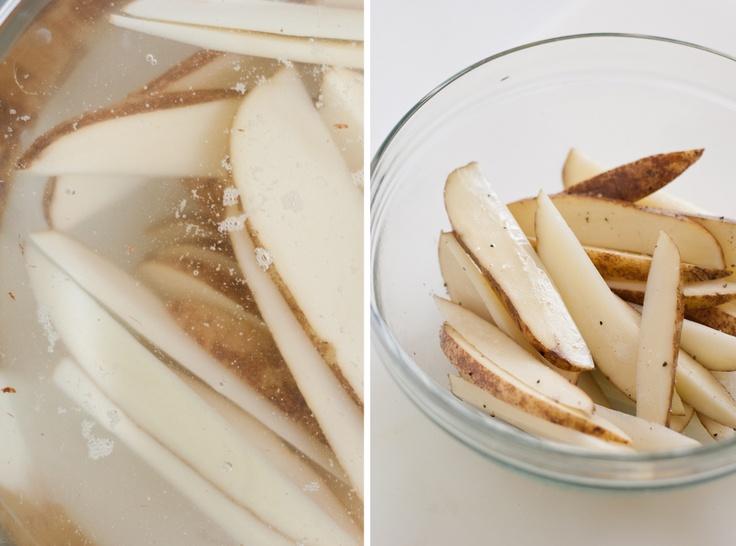 Crispy Baked French Fries | Recipe