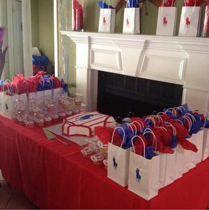 polo baby shower for my friend thats alk they where is polo