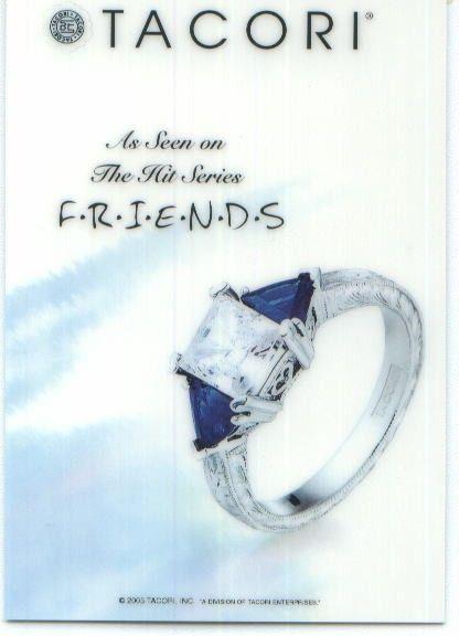 Monica Geller Engagement Ring