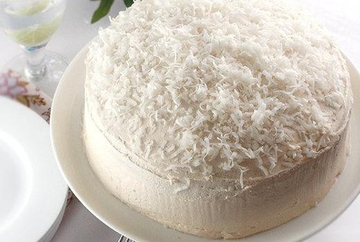 Gluten-Free Coconut Layer Cake | gluten free goodies :) | Pinterest