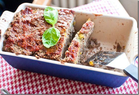 """Meatless Monday """"Meat"""" Loaf- vegetarian meat loaf recipe!"""