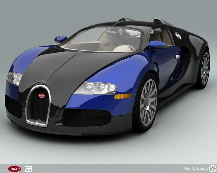 Bugatti Veyron Pink And Black   Photo#3