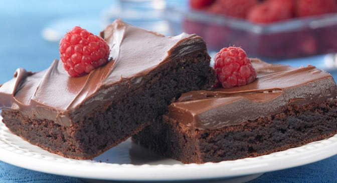 Raspberry Brownies | Recipe