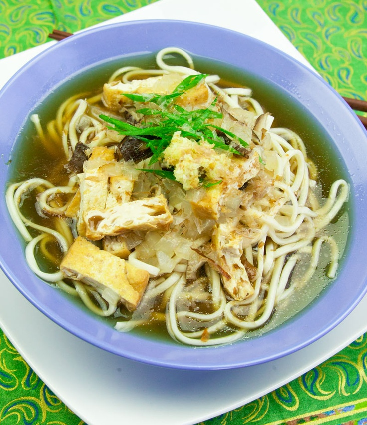 Winter Udon (Kitsune Udon) #recipe | Dinners | Pinterest