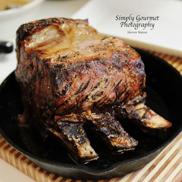 Christmas Dinner ~ an aged Prime Rib feast. This contains recipes for ...
