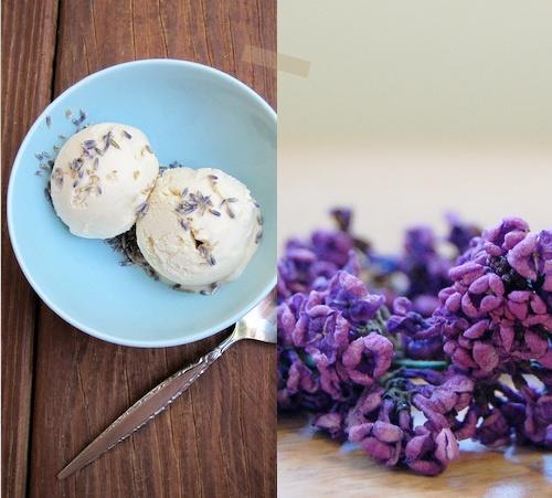 lavender honey ice cream | Lavender & Lilac Lovely | Pinterest