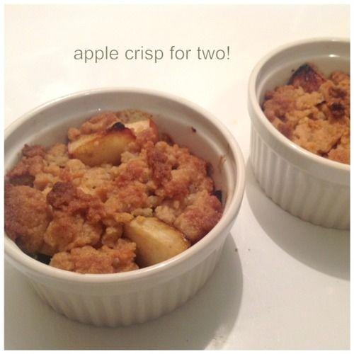 Apple crisp for 2 | Recipes | Pinterest