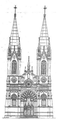 Рисунки в готическом стиле замки