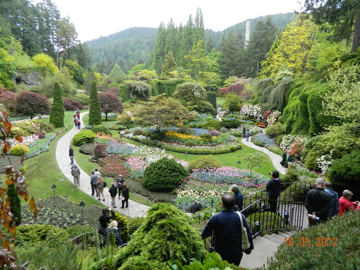 Butchart gardens victoria bc hotels in seattle for for Garden design victoria bc