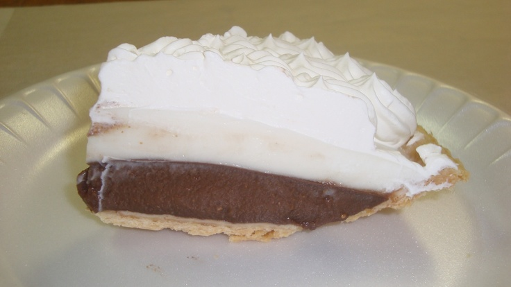 Chocolate Haupia Cream Pie - Ted's Bakery Haliewa Oahu