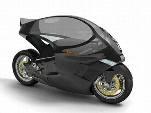 electric motorcycle enclosed - photo #26