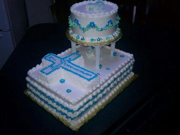 cake for bautizo