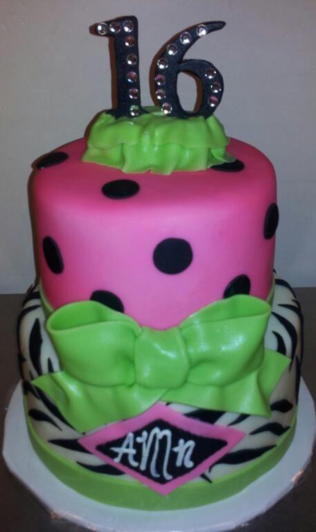 16th birthday cakes ideas