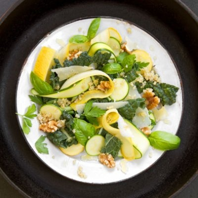 kale amp summer squash salad with quinoa amp lemon sippity sup