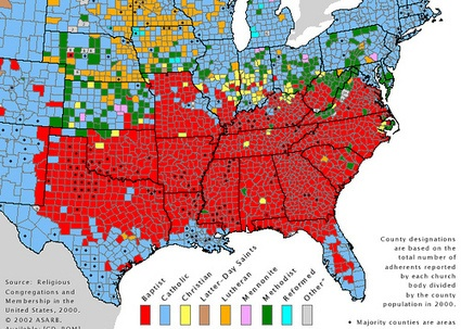 Where Does The South Begin Geography Vernacular Region
