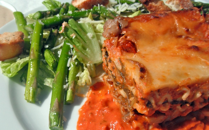 Spinach and Mushroom Lasagna | Vegetarian Twists | Pinterest