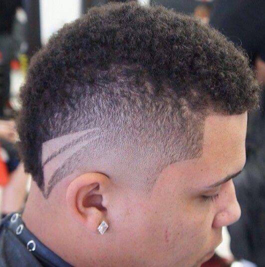 Mohawk with sweet design!!!! | Hair Logistics 101 | Pinterest