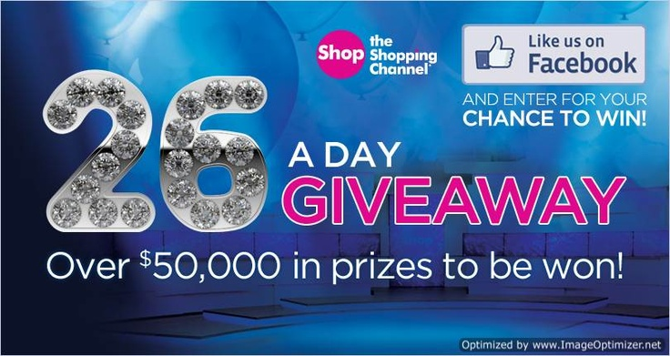 Sweepstakes ~ Win Over #$50000 In Prizes x 26 Winner @ The Shopping ...