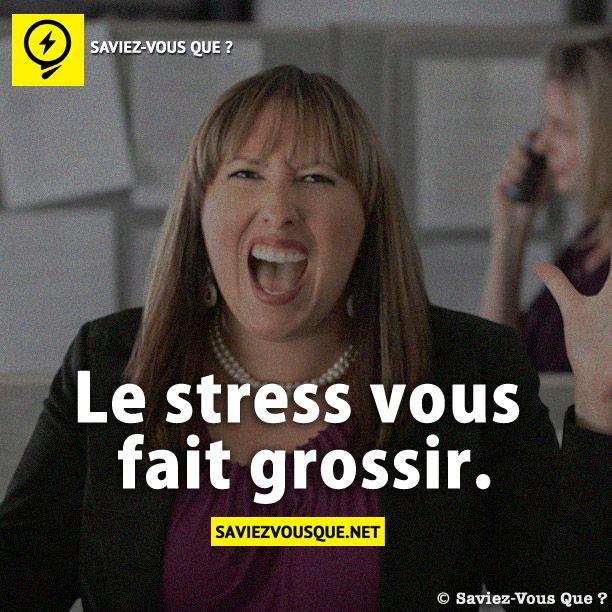 Le stress vous fait grossir saviez vous que tous les jours d couvrez de nouvelles infos - Le potimarron fait il grossir ...