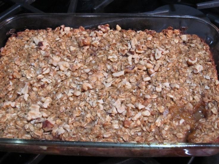 Baked Apple Oatmeal | yummy nummy | Pinterest