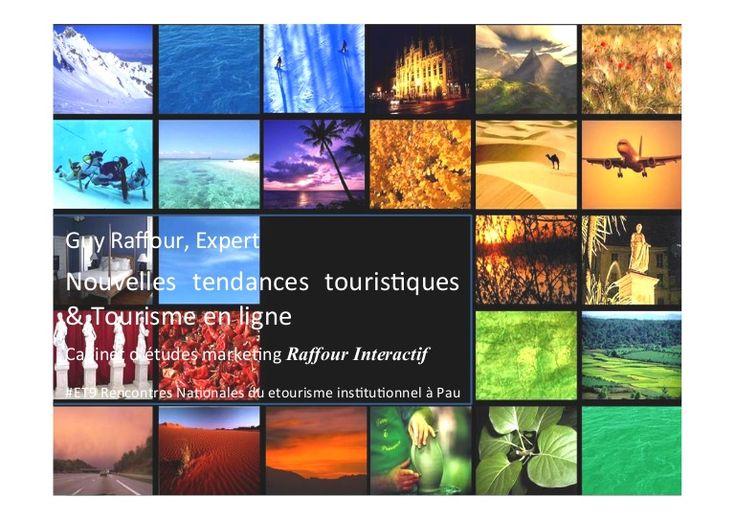 Rencontres e-tourisme institutionnel