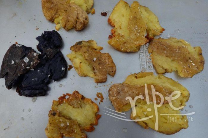 Crispy-Roasted Smashed Potatoes | RIPE | Amy's Blog Posts | Pinterest