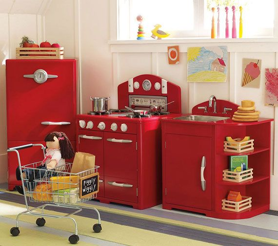 Kid space play kitchen set ideas for future children for Kitchen set kids