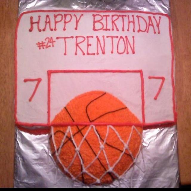 Basketball Birthday Cake Party Ideas Pinterest