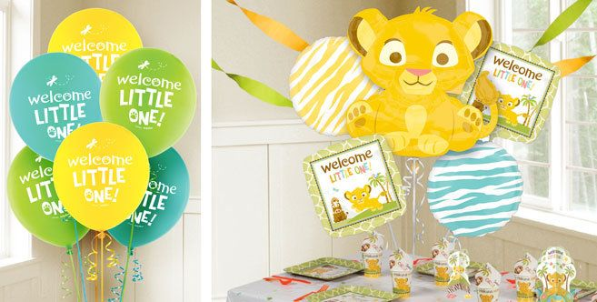 lion king baby balloons party city baby shower ideas pinterest