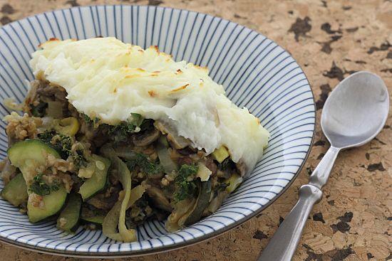 Lazy Vegetarian Shepherd's Pie: Vegetarian shepherd's pie made with ...