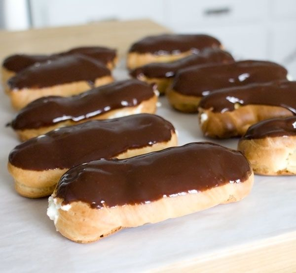 Home maid eclairs | Sweet Treats | Pinterest