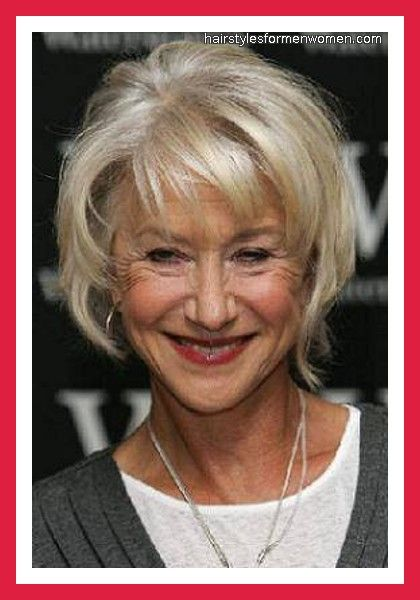 short hairstyles for over 50 s ladies