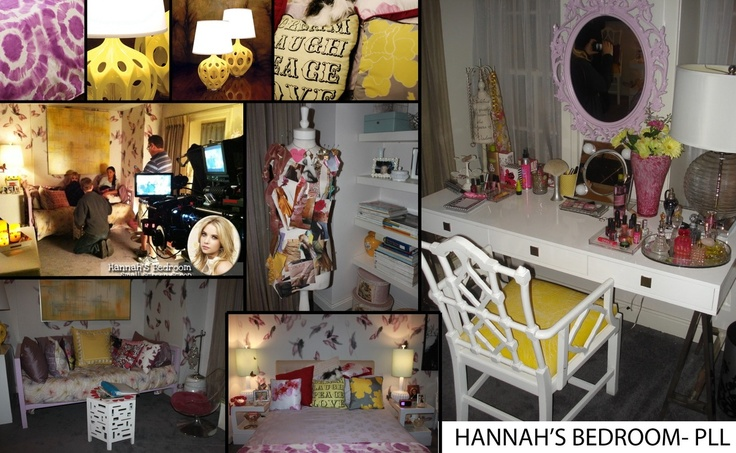 hanna s bedroom from pretty little liars for the home pinterest