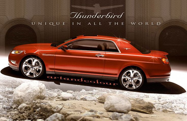 2015 Ford Thunderbird concept   Dream cars   Pinterest