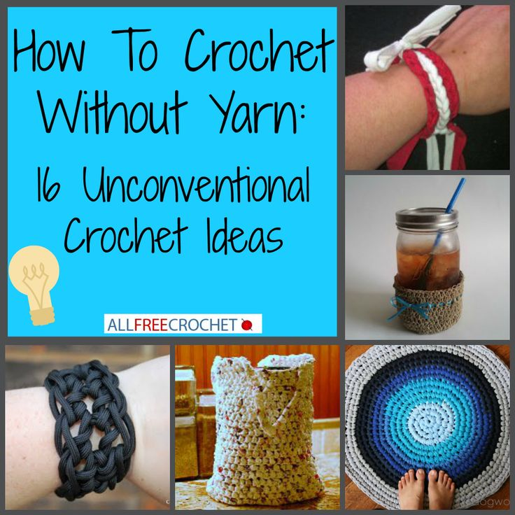 Learn how to crochet without yarn! Crochet Tutorials and Inspiratio ...