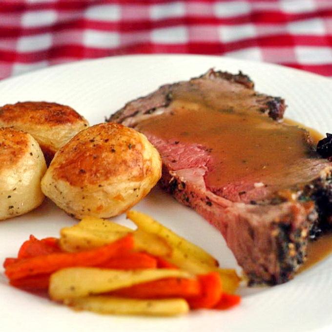 ... and Garlic Crusted Prime Rib Roast | ~MainDish-Chicken*Beef*Fish