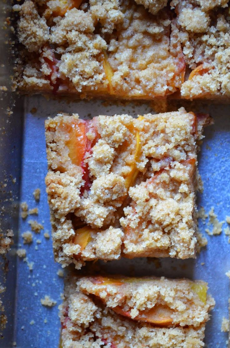 Peach shortbread. | Food & Drink | Pinterest