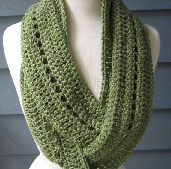 Crocheting Ends Of Infinity Scarf Together : ... easy crochet infinity scarf pattern infinity scarves crochet patterns
