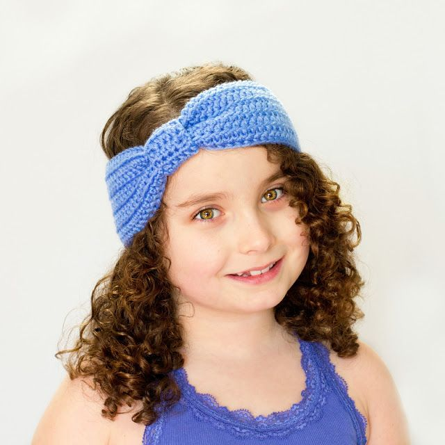 Free Crochet Pattern For Knotted Headband : Turban Knot Headband Crochet Pattern