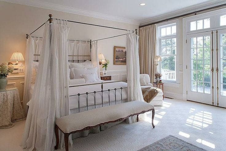 dreamy master bedroom french doors home decor inspirations pin