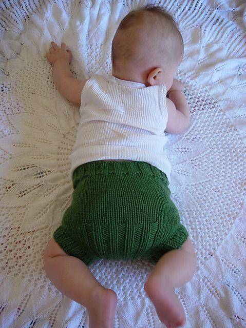 Knit Wool Diaper Cover Pattern : Vanilla pattern by Kelly Brooker