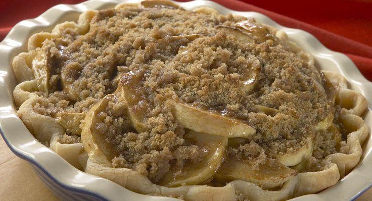 Streusel Layered Apple Pie   Recipe