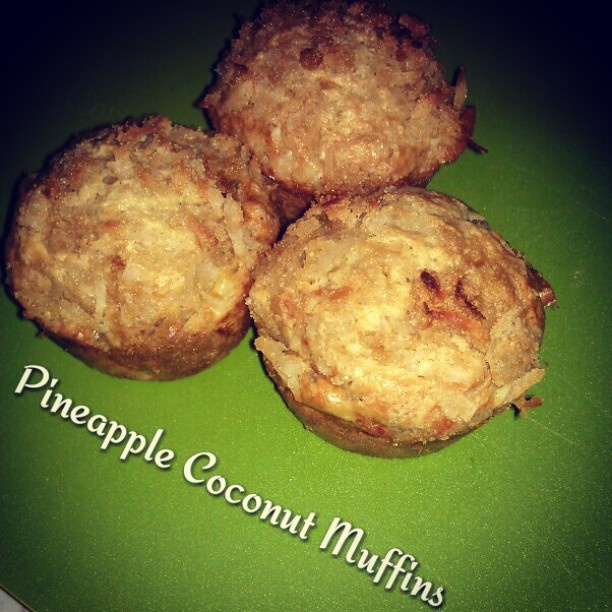 More like this: coconut muffins , pineapple coconut and pineapple .