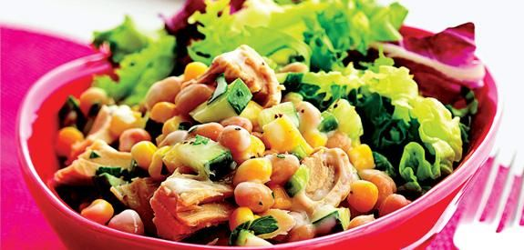 Tuna And White Bean Salad | ♥Food♥ | Pinterest
